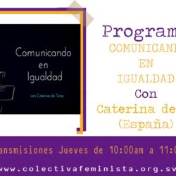 Comunicando en Igualdad